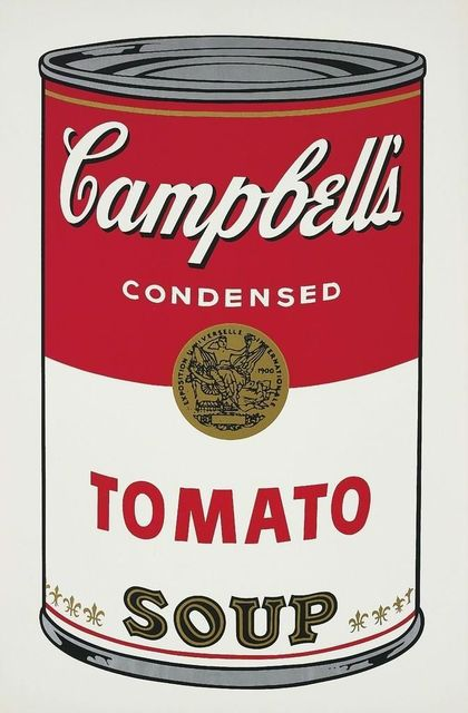, 'Tomato Soup, from Campbell's Soup I,' 1968, David Benrimon Fine Art