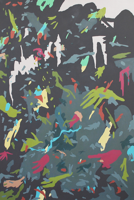 , 'Edge of the Grotto,' 2018, Octavia Art Gallery