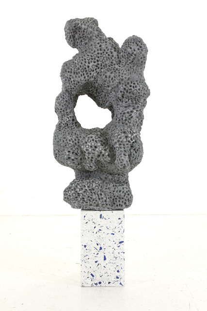, 'Napalm Stone (Aluminum version 1),' 2014, Nina Johnson