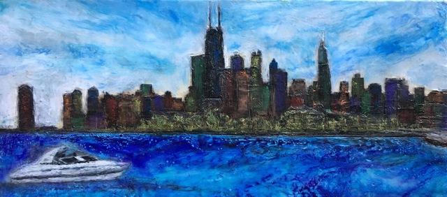 , 'Fullerton Beach, Chicago,' , Copley Society of Art