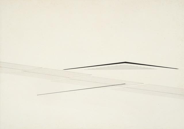 Nasreen Mohamedi, 'Untitled', Circa 1980's, Institute of Arab and Islamic Art
