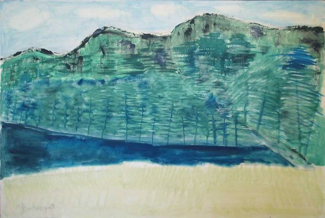 , 'Spring in the Mountains,' 1960, Yares Art Projects