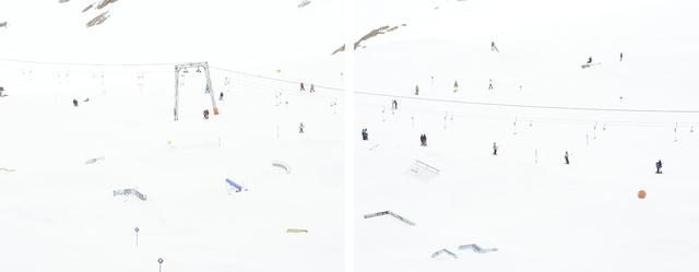 , 'Stubaier Gletscher,' 2013, Ncontemporary