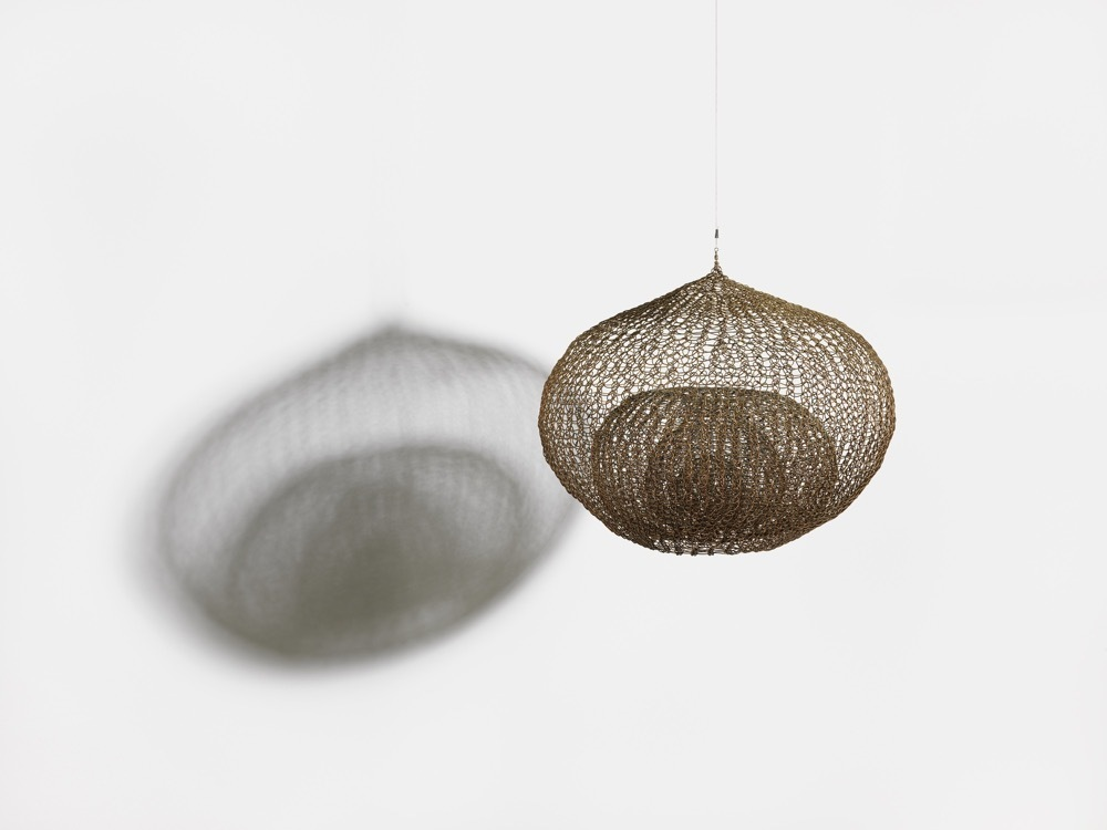 Untitled (S.175, Hanging Single-Lobed, Four-Layer Continuous Form within a Form)