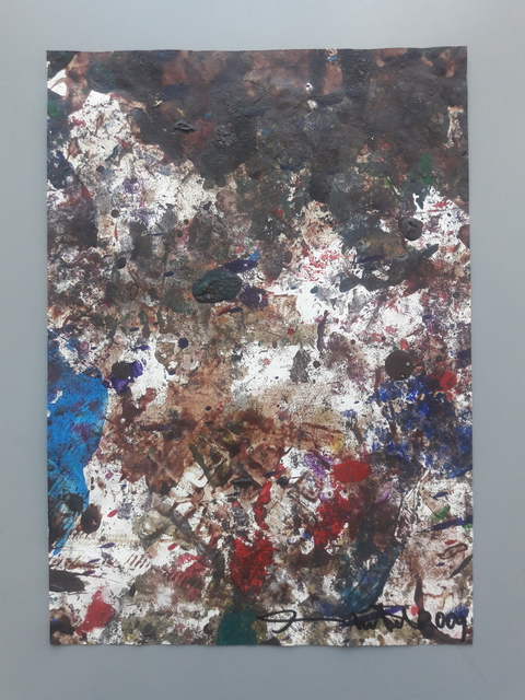Hermann Nitsch, 'Papierarbeit', 2001, Galerie Elisabeth & Klaus Thoman