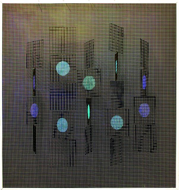 , 'Carres et circles N° 1,' 1969, Isabel Aninat