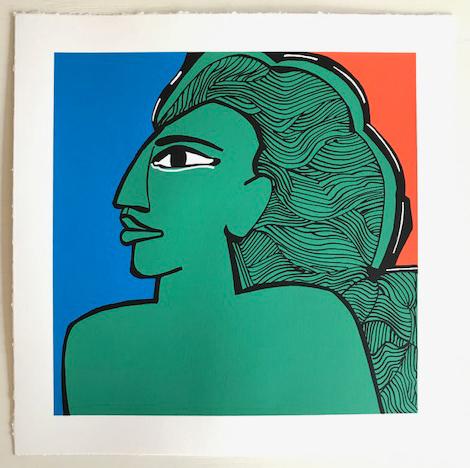 , 'Mujer,' 2017, Craig Krull Gallery