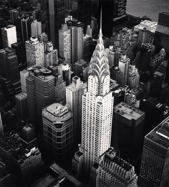 Michael Kenna, 'Chrysler Building, Study 4, New York, NY', 2010, PDNB Gallery