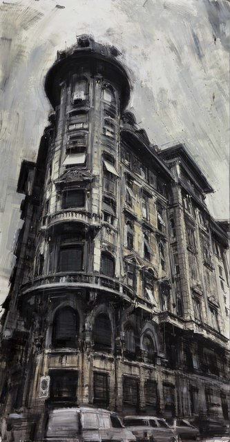 """Valerio D'Ospina, '""""The Corner Building""""', 2017, The Haen Gallery"""
