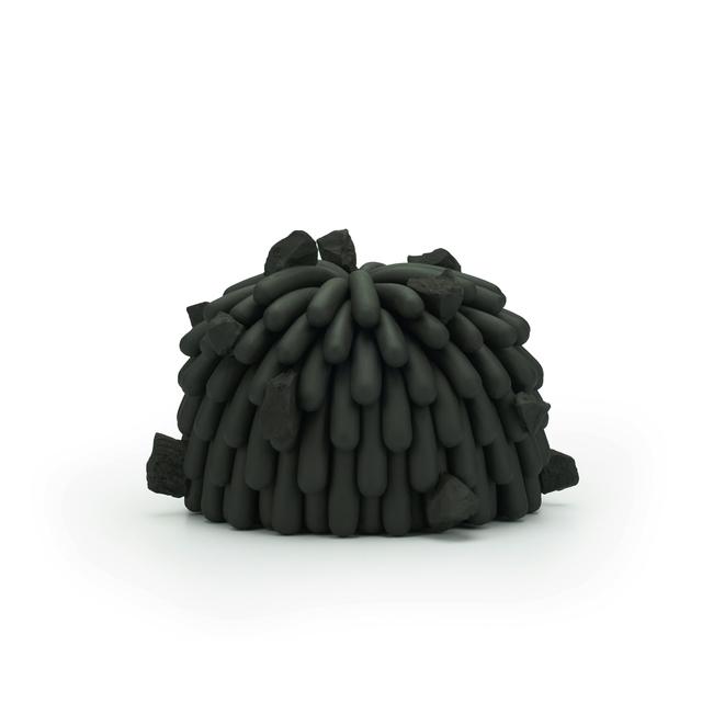 Linda Lopez, 'Black Dust Furry with Rocks', 2019, Mindy Solomon Gallery