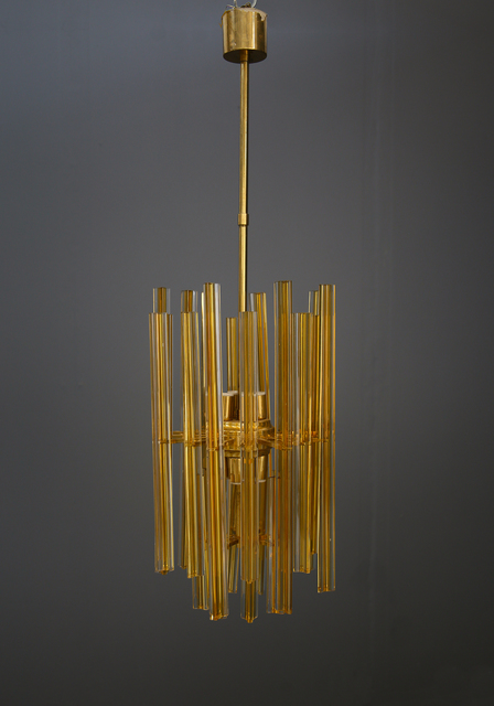 Venini, 'Large 50's Venini chandelier in perfect condition with 8 lights.', ca. 1950, LTWID by Vintage Domus