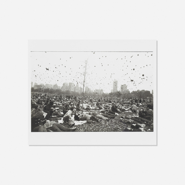 Garry Winogrand, 'Peace Demonstration, Central Park', 1970, Wright