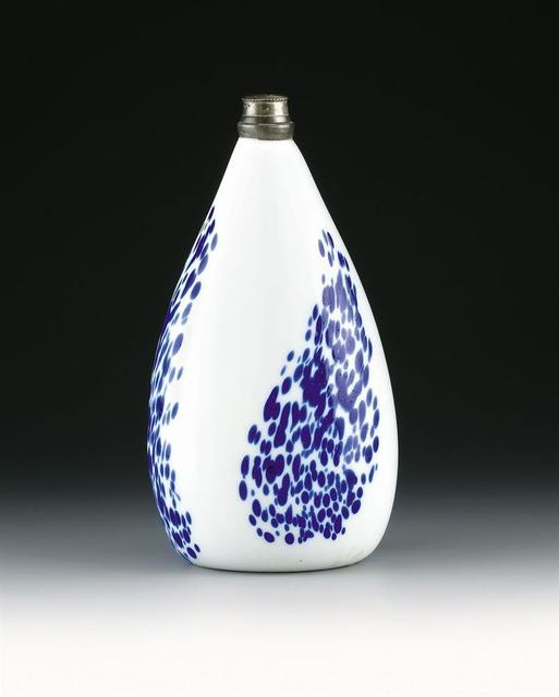 , 'White Opaque Glass Bottle,' Alpine Central Europe-18th century, Galerie Kovacek