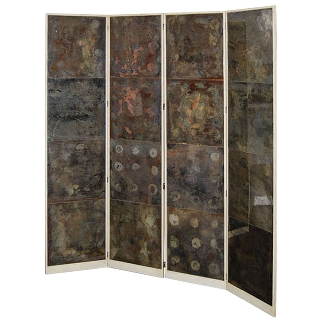 , 'Oxidized Mirror Screen from the LeRoy Estate,' ca. 1940, Galerie XX