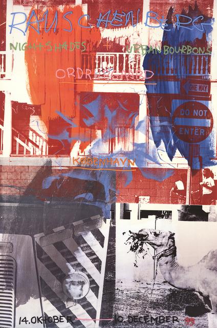 Robert Rauschenberg, 'Night Shades + Urban Bourbons', 1995, ArtWise