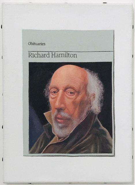 Hugh Mendes, 'Obituary: Richard Hamilton', 2012, Robert Fontaine Gallery