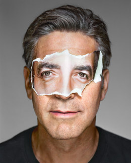Martin Schoeller, 'George Clooney with Mask', 2008, CAMERA WORK
