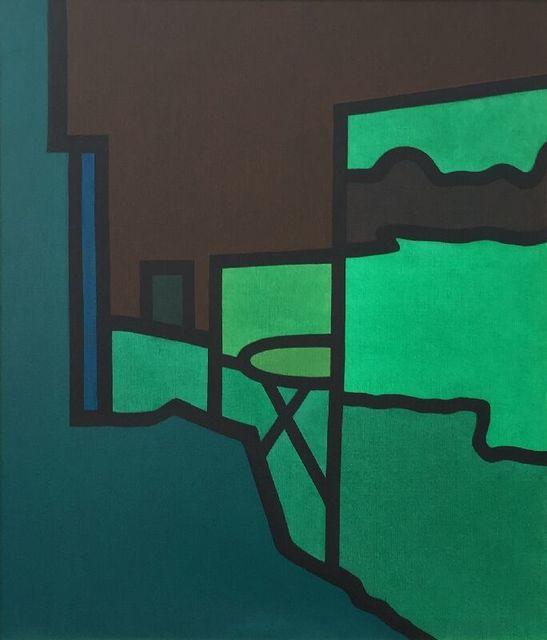 Derrick Greaves, 'Ivy House Farm - Garden Reflections', 2014, James Hyman Gallery