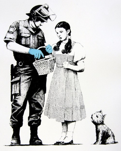 Banksy, 'Stop and search', 2007, MUCA