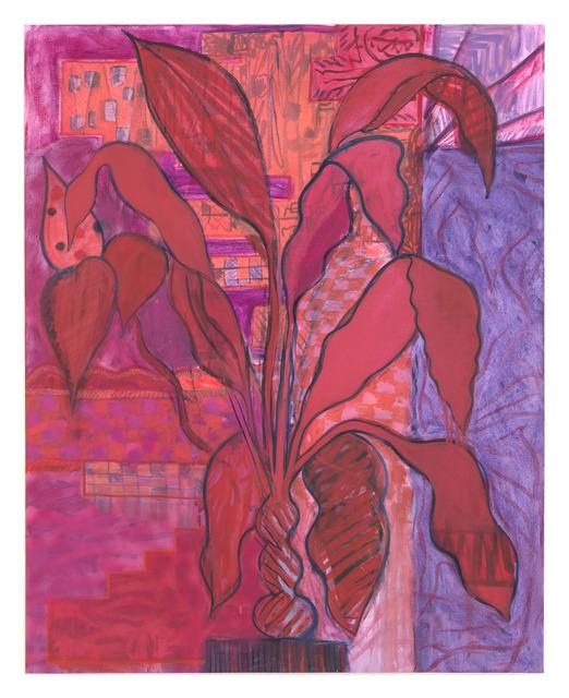 , 'Red Dracaena,' 2013, ROBERTO PARADISE
