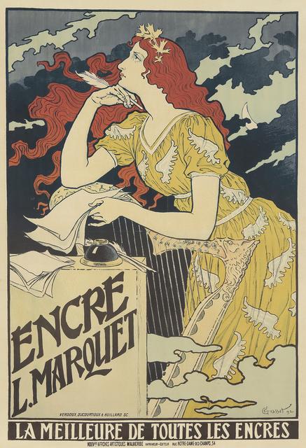 , 'Encre L. Marquet,' 1892, Rennert's Gallery