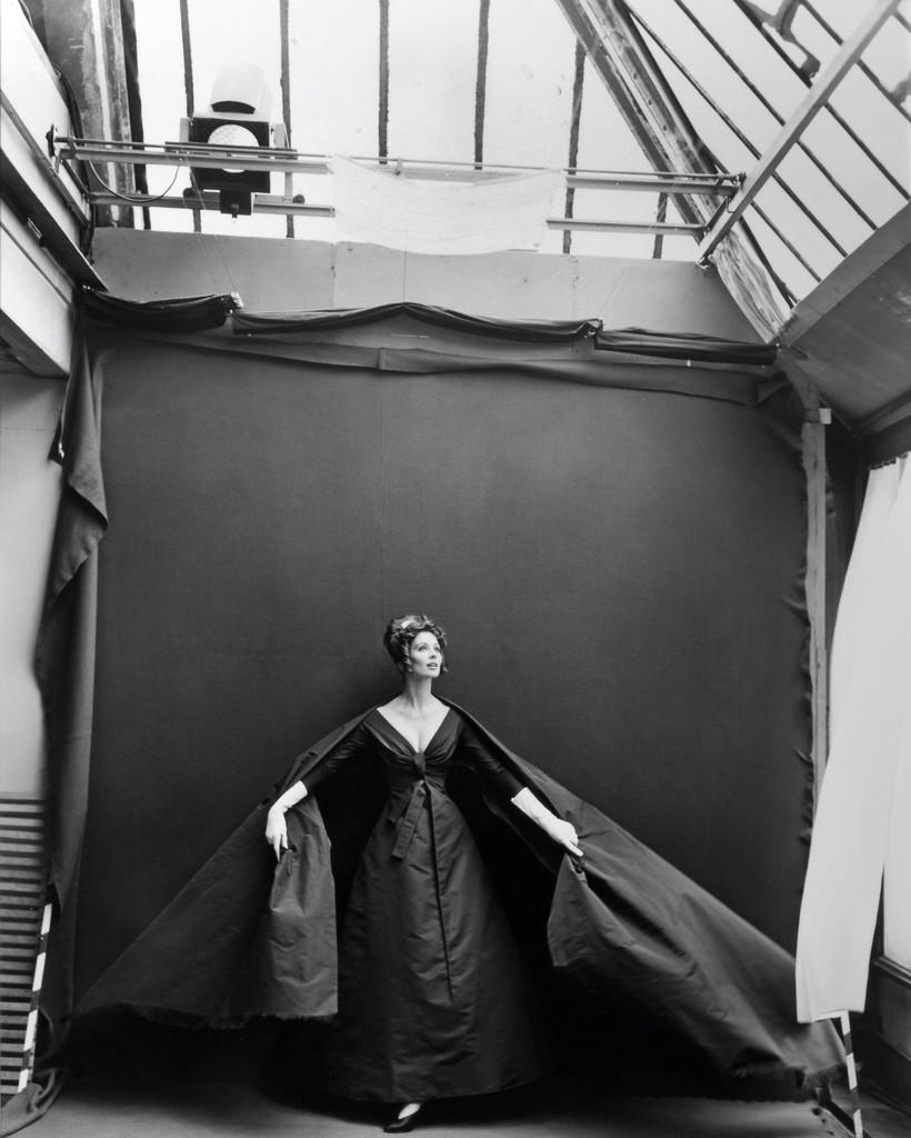 Richard Avedon | Suzy Parker, Evening Dress by Dior, Paris Studio ...