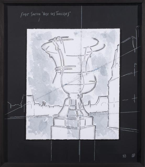 , 'First Sketch Vases des Tuileries IV,' 2014, Artscape Lab