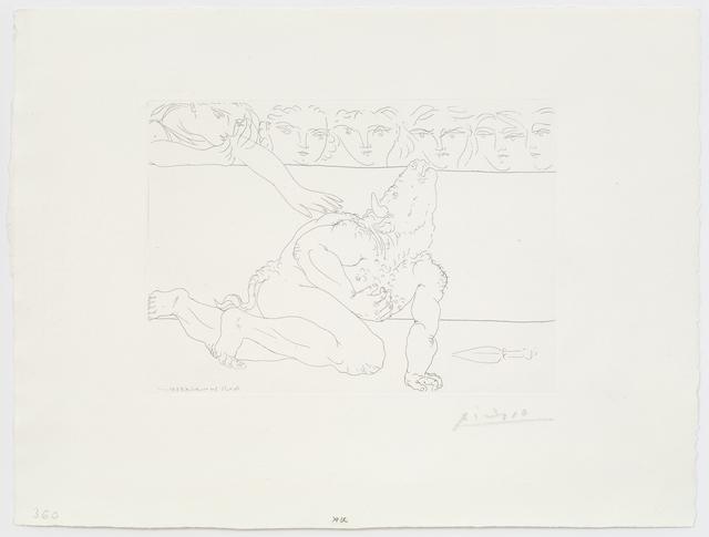 , 'Minotaure mourant,' 1933, Alan Cristea Gallery