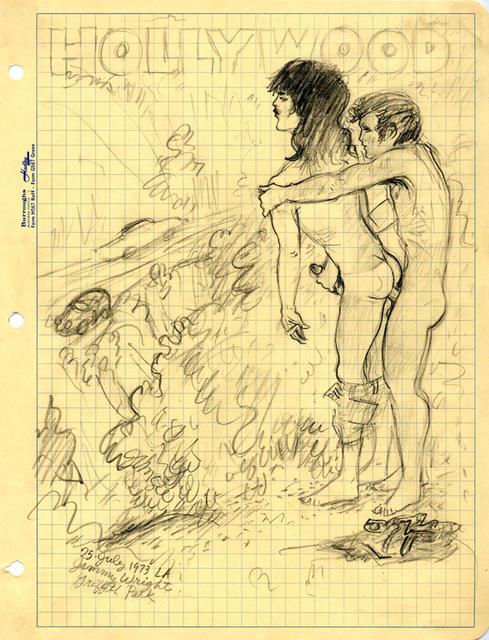 , 'Griffith Park, L.A.,' 1973, Corbett vs. Dempsey