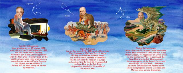 Benjamin Patterson, 'My Thirteen Presidents (portfolio, NOT SOLD INDIVIDUALLY)', 2009, Print, Portfolio of 7 digital prints, The Brodsky Center at PAFA