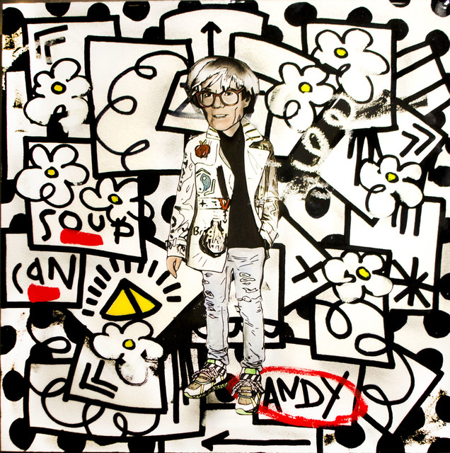Flore x The Producer BDB, 'Andy Warhol', 2015, Mouche Gallery