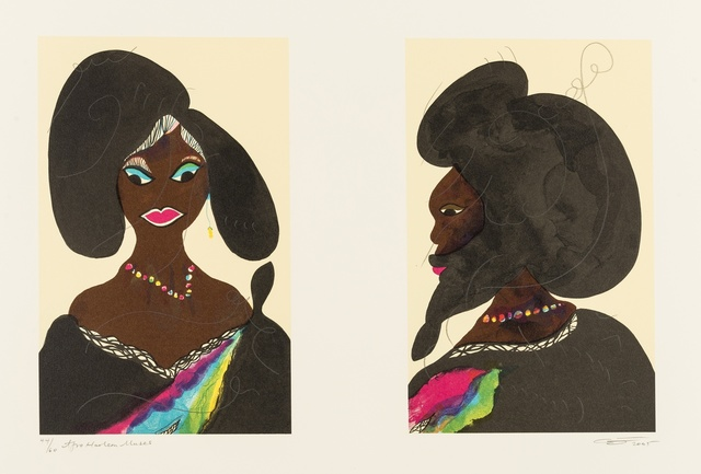 Chris Ofili, 'Afro Harlem Muses', 2005, Forum Auctions