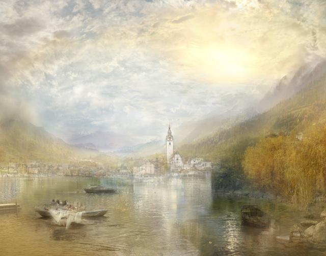 Hiroyuki Masuyama, 'J.M.W Turner  Küssnacht, Lake Of Lucerne Sample Study, 1842-3  ', 2014, GALERIE URS REICHLIN