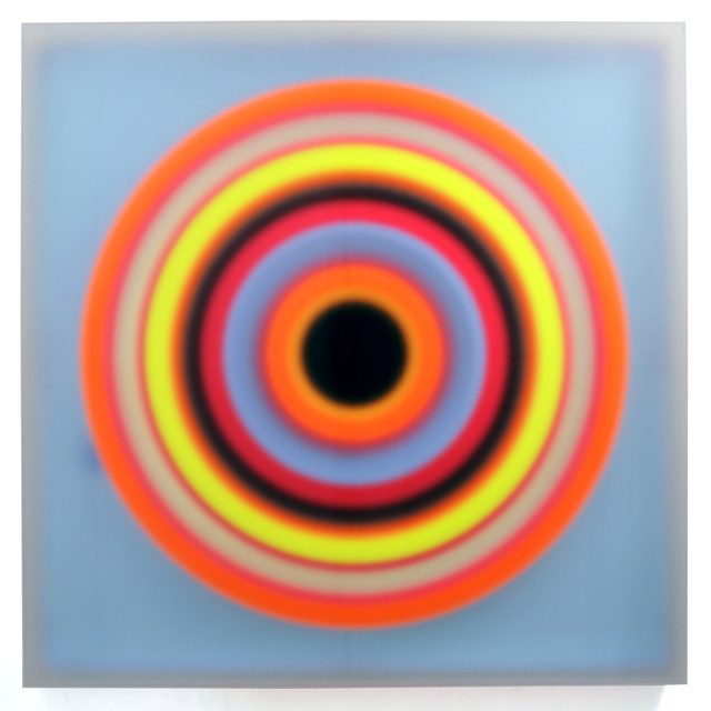 , 'Color space – Blue medium / Black Hole,' 2014, Himmelblau Printmaking Finland