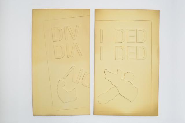 , 'Divided,' 2015, BFA Boatos Fine Arts