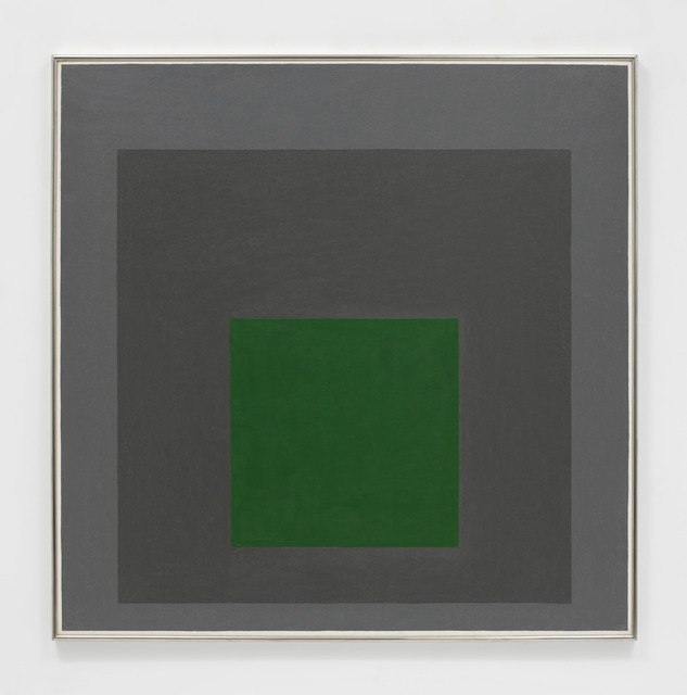 , 'Homage to the Square: Embedded,' 1963, David Zwirner
