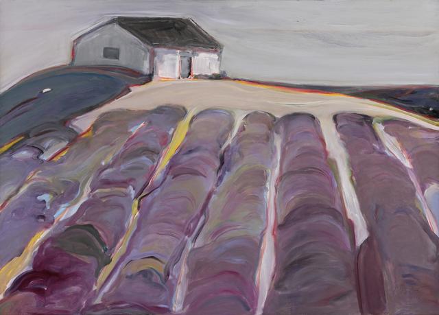 , 'Lavender Fields,' 2017, Caldwell Snyder Gallery