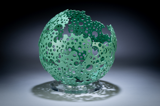 , 'Verdigris Shadow Sphere,' , Momentum Gallery