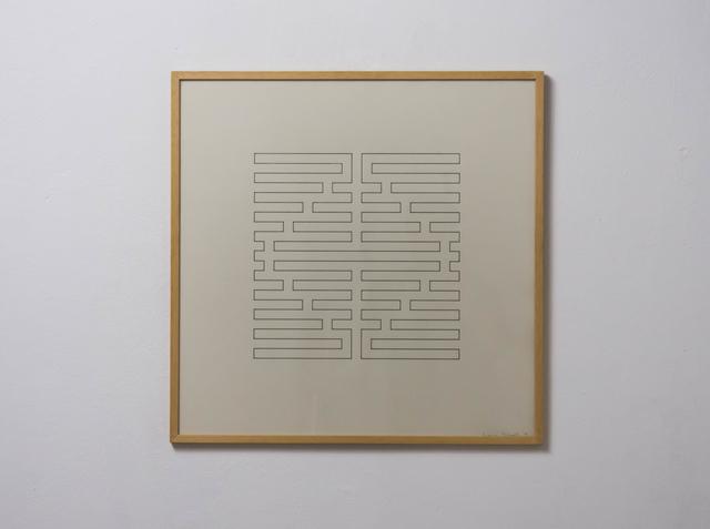 , 'boundary line,' 1974, Edition & Galerie Hoffmann