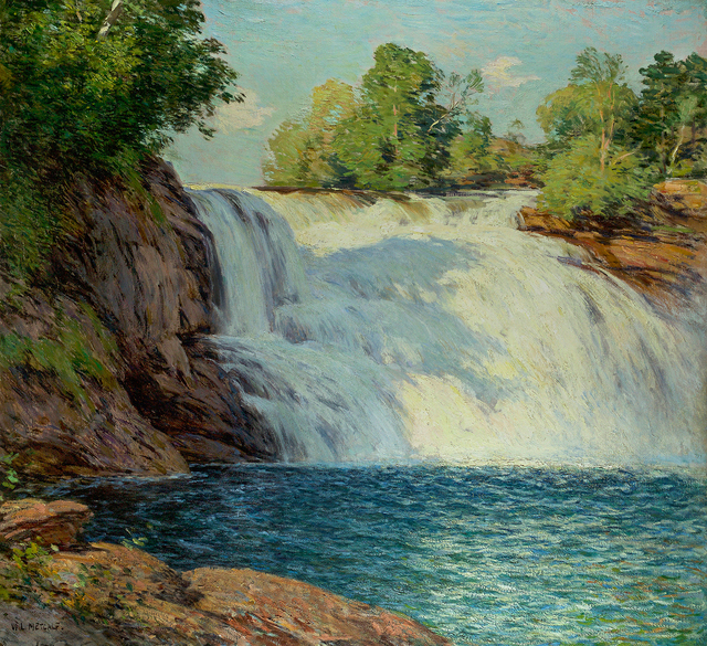, 'The Waterfall,' , Questroyal Fine Art