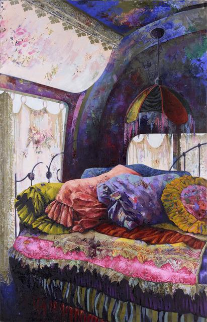 Katrin Brause a.k.a. Heichel, 'Caravan', 2018, Painting, Oil on canvas, Josef Filipp Galerie