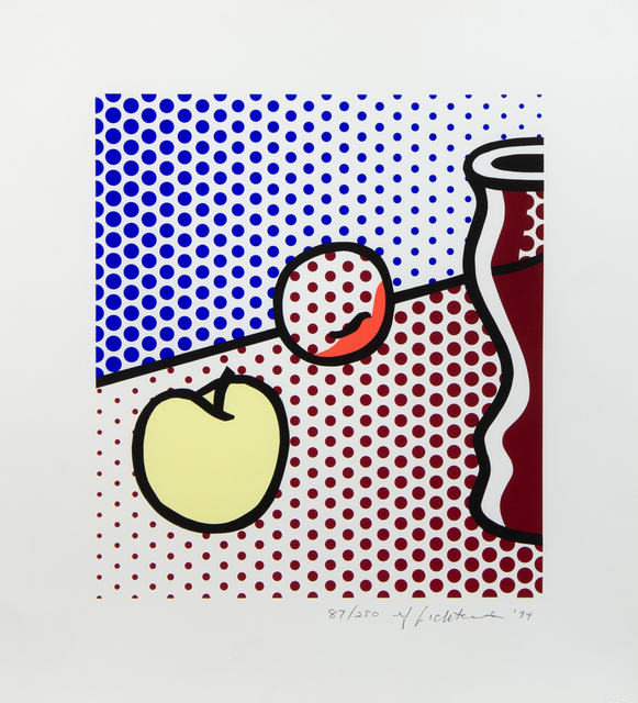 Roy Lichtenstein, 'Still Life with Red Jar', 1994, Print, Color Screenprint, Hindman