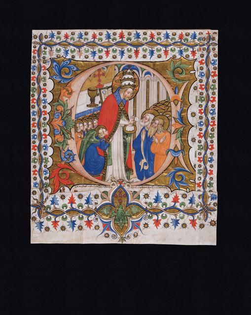 , 'Comunione degli Apostoli,' 1439, Punta della Dogana