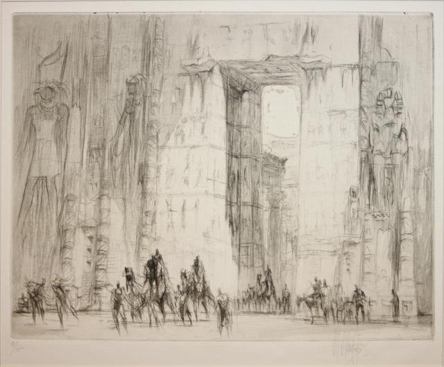 ", '""The Caravan"",' 1928, EastCoastArt"