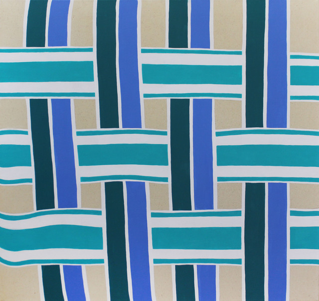 , 'Lawn Chair (Blue),' 2017, Galleri Urbane