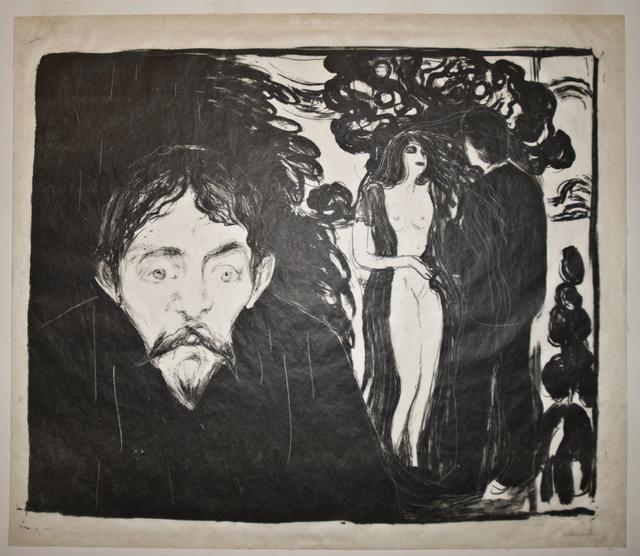 , 'Sjalusi II (Jealousy II),' 1896, John Szoke