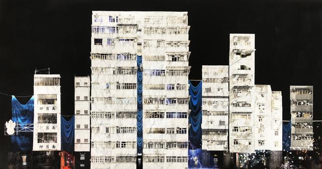 ", 'Daphné Mandel ""Dark Alleys Part 1"" [Hong Kong],' 2018, Blue Lotus Gallery"