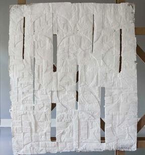 , 'White City / Front Panel I,' 2012, Galerija Gregor Podnar