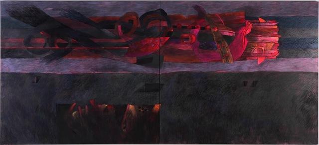 , 'Paracas la noche,' 2014, Durban Segnini Gallery