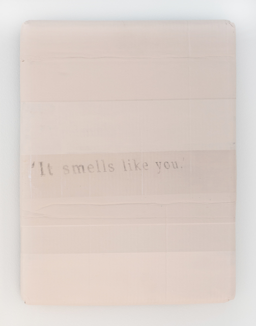 , ''It smells like you.' (II),' 2017, Jane Lombard Gallery